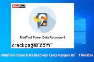 MiniTool Power Data Recovery 9.2 Crack + Keygen Download 2021