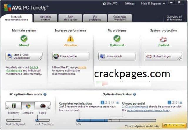 AVG TuneUp 21.2.2897 Crack + Full Version Free Download 2021