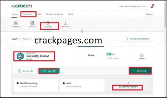 Kaspersky Security Cloud Crack & Activation Code 2021 Download